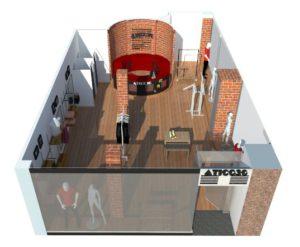 Diseño de tienda Atico30